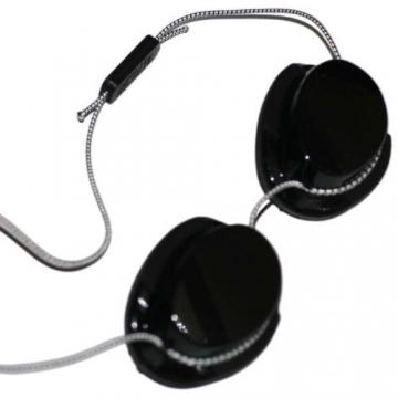 Höhensonnenbrille für Erwachsene - Solarium Schutzbrille Solariumbrille Rotlichtbrille -