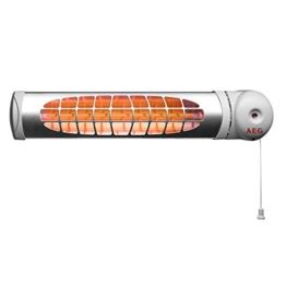 AEG 234822 IWQ 60 Infrarot Baby-Heizstrahler für den Wickeltisch, 600 W, grau -