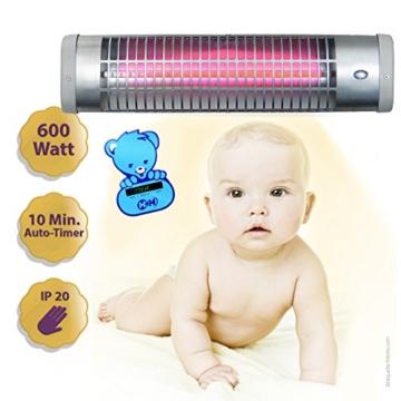Der Neue Wickeltisch Heizstrahler mit Thermometer von H + H -